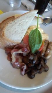 世界一の朝食。